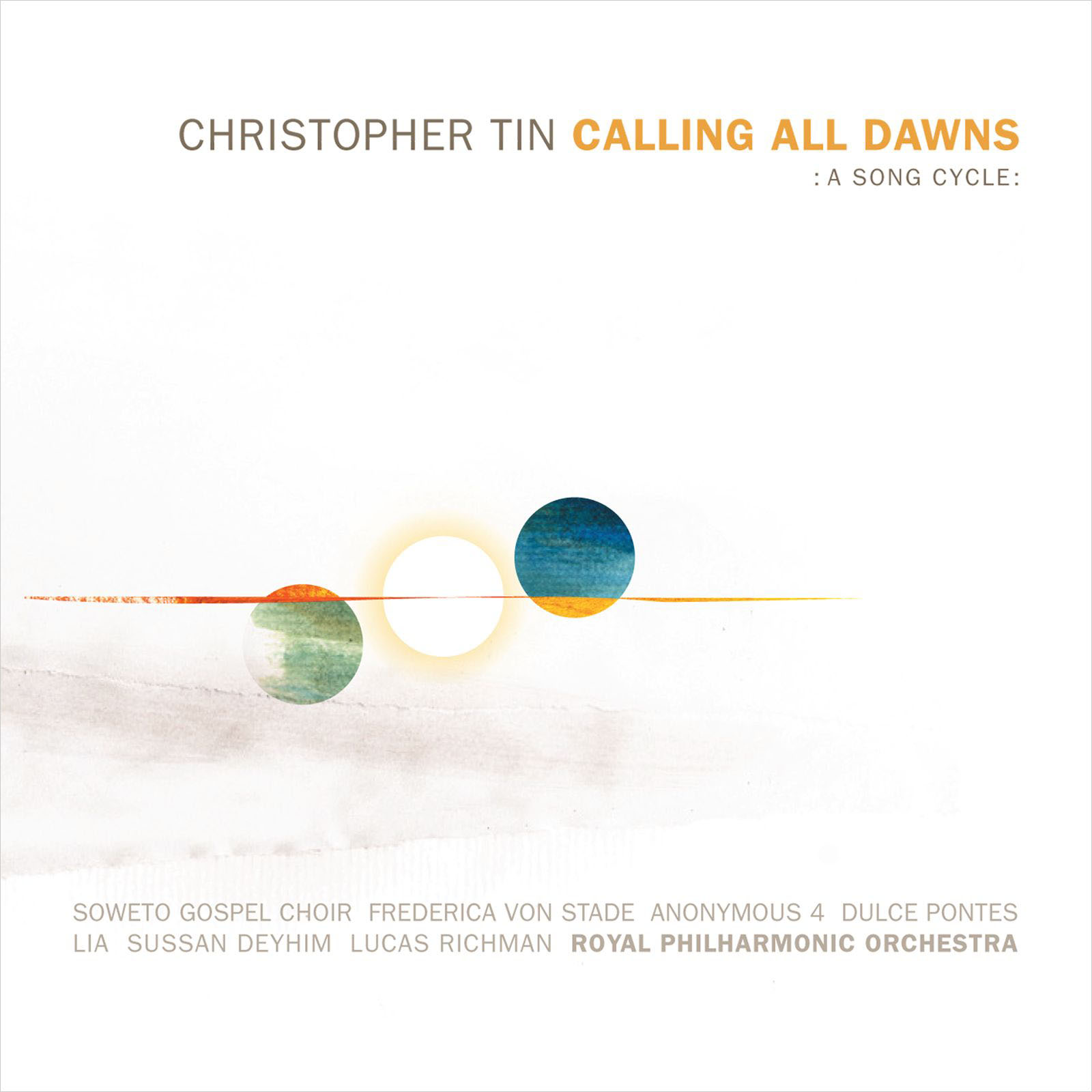Christopher Tin_Calling All Dawns_Album Cover